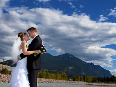 Cristal and Brad - Kicking Horse Resort Wedding