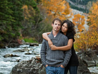 Tracey and Rick - Crowsnest Pass Engagement Photographers