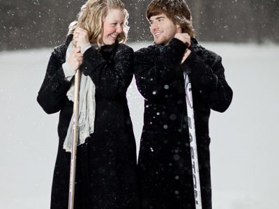 Gillian and Andrew - Fernie Engagement Photographers