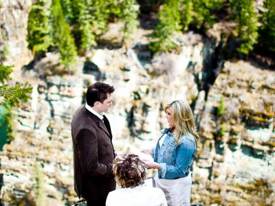 Sheena and Milo - Fernie Wedding Photographers