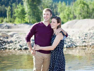 Kristine and Eric - Fernie Engagement Photographers