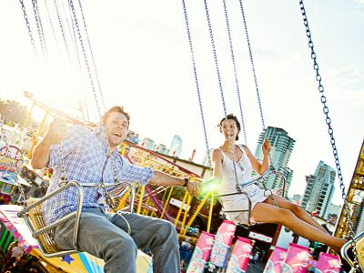 Sandra and Carl - Calgary Stampede Engagement Photographers