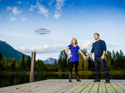 Fernie Portrait Photographers - Ashlee and Bryan