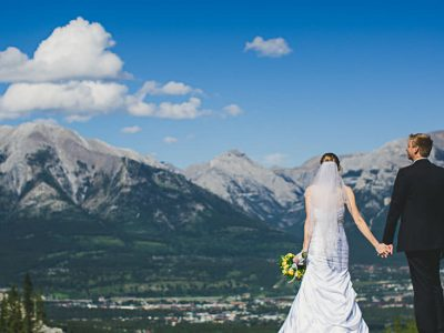 Banff Wedding Photography - Karissa and Jon