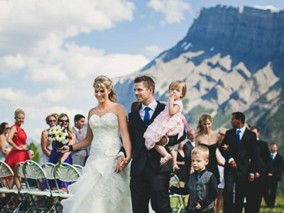 Kelly and Jered - Banff Wedding Photographers