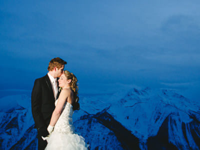 Winter Wedding at Kicking Horse Resort - Dayna and Mike