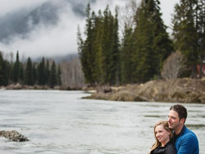 Kristin and Jeff - Sparwood Engagement Photography