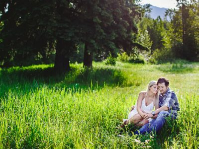 Chelsie and Jason - Fernie Engagement Photos