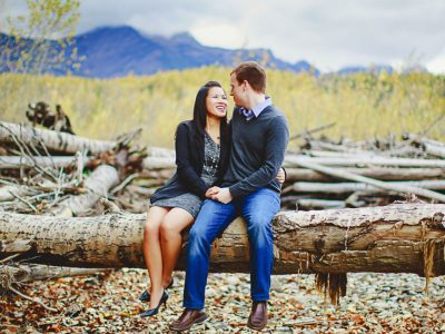 Blanda and Jordan - Fernie Photographers