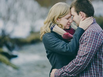 Emily and Aaron - Fernie Winter Engagement Session
