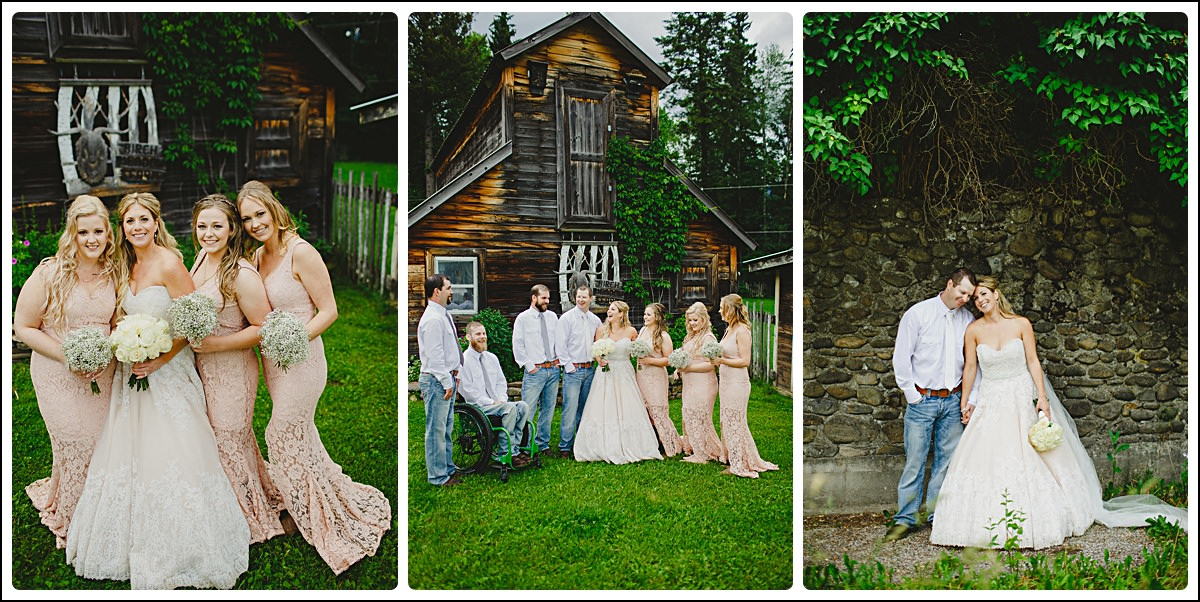 6:8 Photography, 6:8 Wedding Photography, Adam, Birch Meadows B&B, Elleda, Fernie, Fernie Wedding Photographers, June, June 2016, Rain, Spring