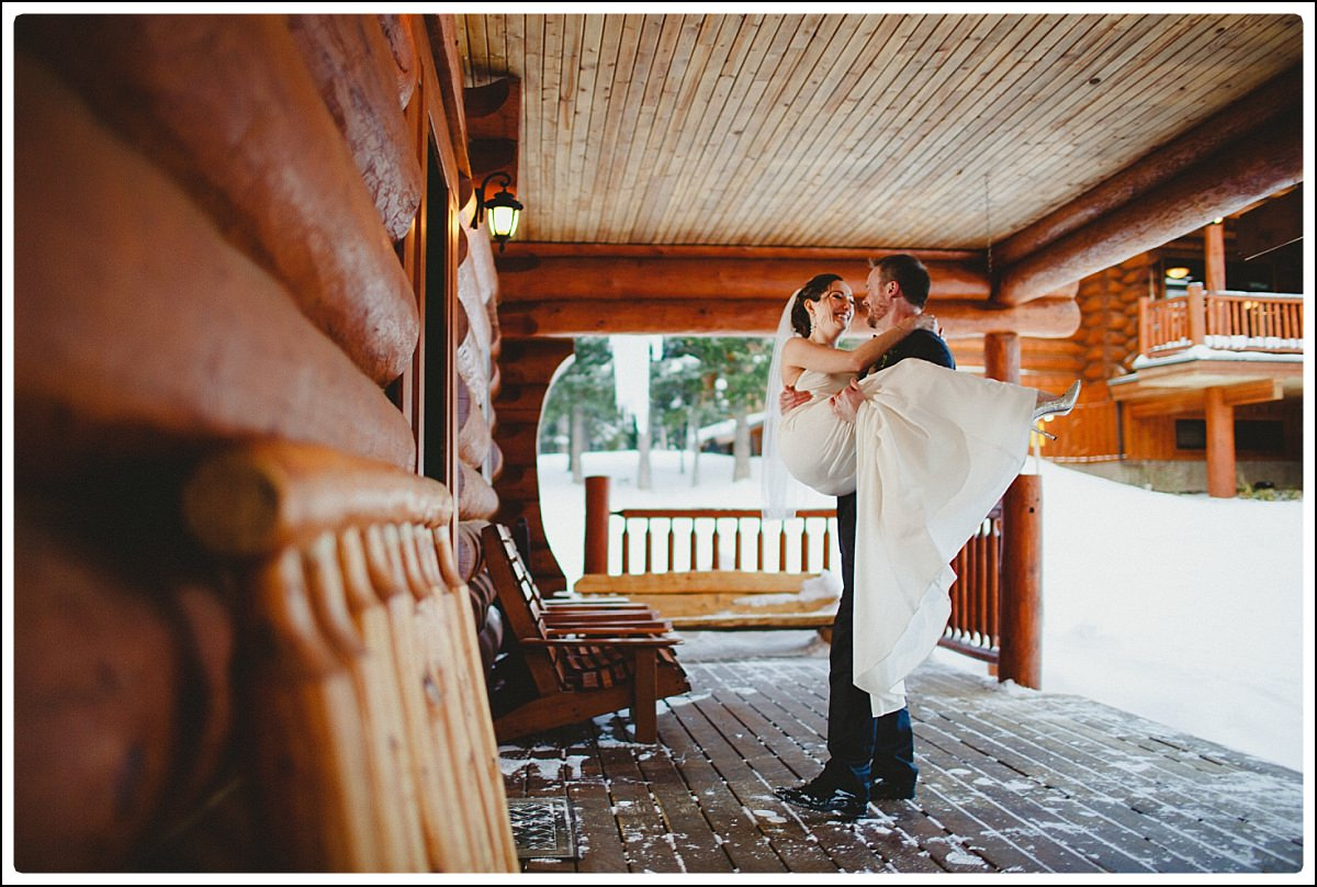 Island Lake Lodge Fernie Wedding