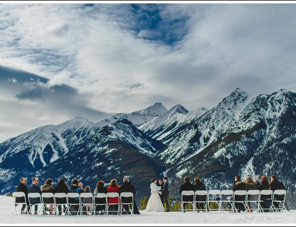 Panorama Winter Wedding Photographer