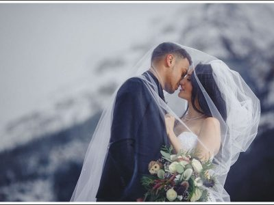 Talisa and Marcus Lake Louise Wedding