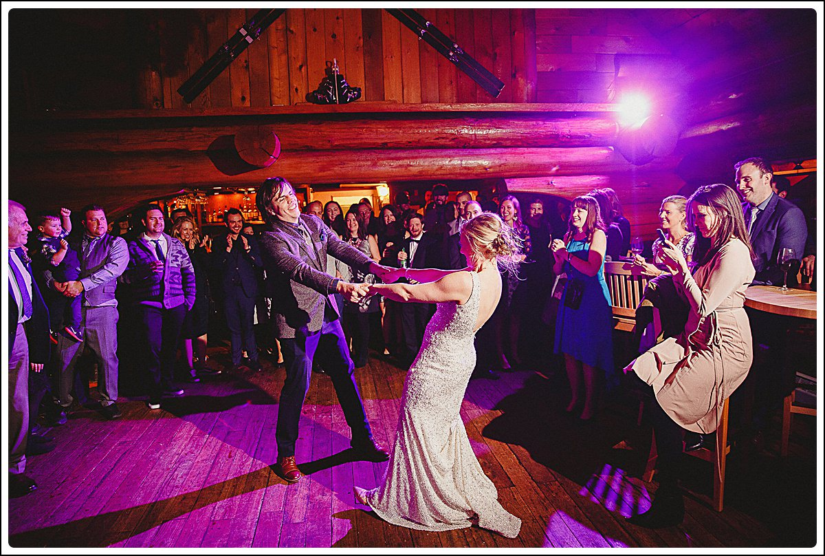 First dance in the Bear Lodge,