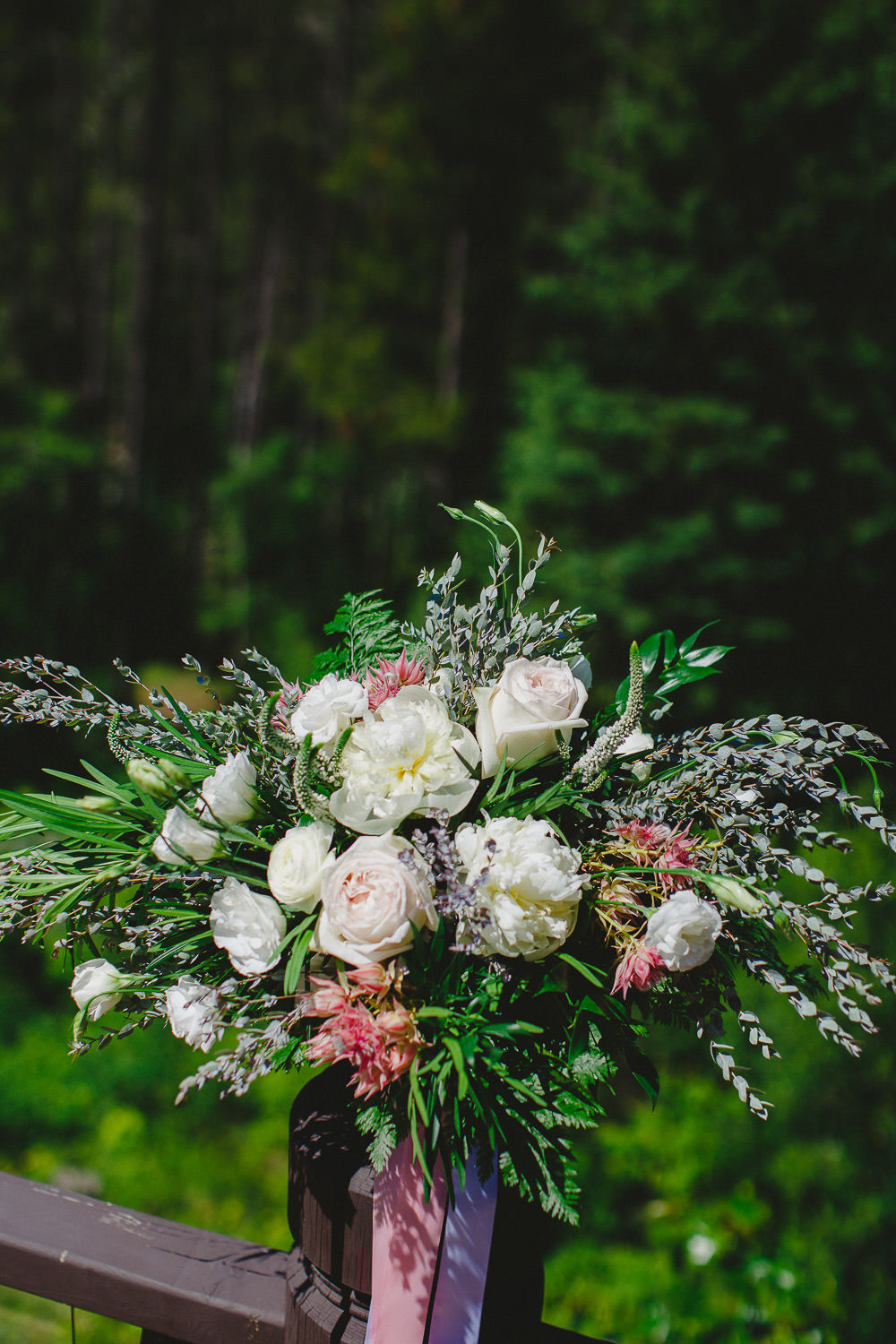 Bride's bouquet from The Green Petal